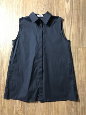 Prada Blouse dark blue cotton