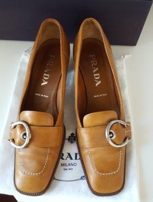 PRADA Boho Kittenheel-Loafers * Gr. 37,5 - 38 * Schuhe * Slipper *