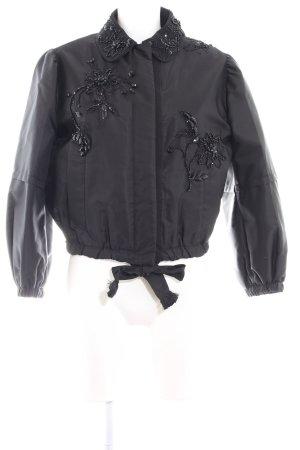 Prada Bomberjacke schwarz Elegant