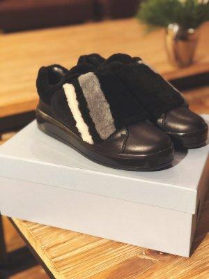 Prada Sneaker con strappi multicolore
