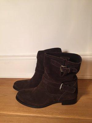 Prada Boots Wildleder Dunkelbraun