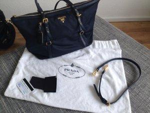 Prada BR2453 Tessuto&Saffian, Colour Bleu
