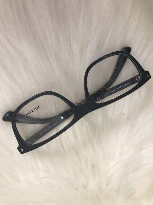Prada Brille Brillengestell matt schwarz