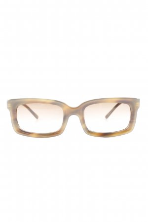 Prada Glasses camel-grey brown street-fashion look