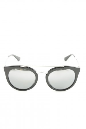 Prada Glasses black-silver-colored street-fashion look