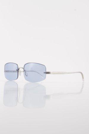 Prada Brille silberfarben-himmelblau klassischer Stil