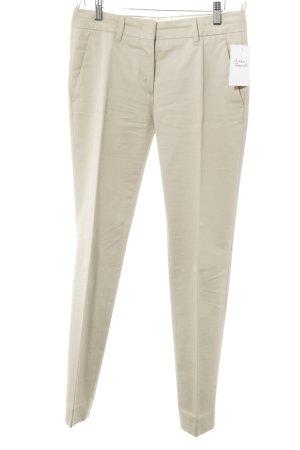 Prada Pantalon à pinces beige style d'affaires
