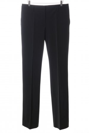 Prada Bundfaltenhose schwarz Business-Look