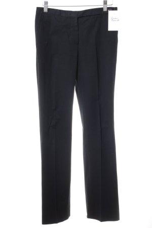 Prada Bundfaltenhose dunkelblau Business-Look