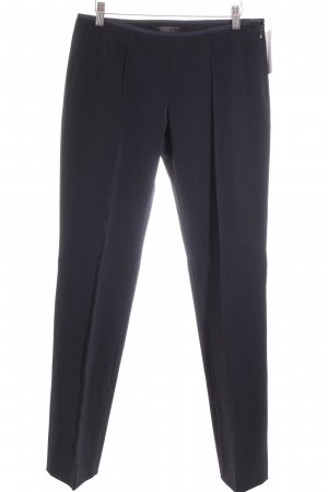 Prada Bundfaltenhose dunkelblau Business-Look
