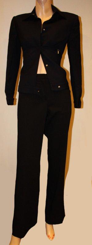 Prada Stretch broek zwart Scheerwol