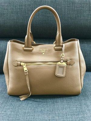 Prada / Business / Schultergürtel / Laptop (Apple) geeignet / Leder / beige