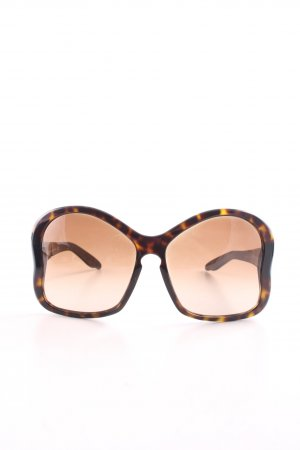 Prada Butterfly Glasses brown-light orange abstract pattern business style