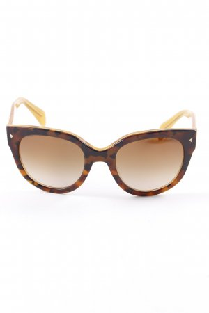 Prada Butterfly Glasses brown-black brown casual look