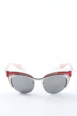 Prada Butterfly Brille Colourblocking Street-Fashion-Look