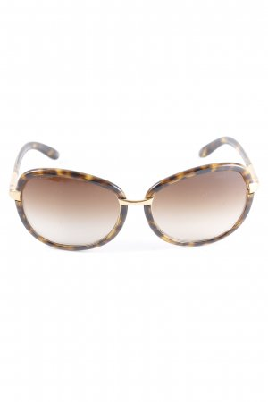 Prada Butterfly Brille mehrfarbig Animal-Look