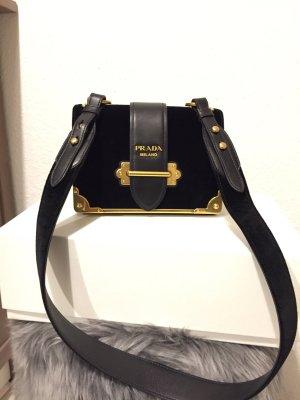 Prada Cahier Bag Velvet crossbody Tasche