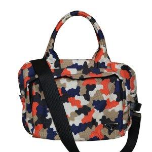 Prada Camo Tasche aus canvas, Camouflage Muster