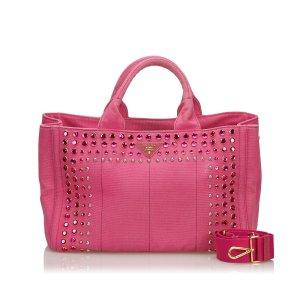 Prada Mochila de colegio rosa