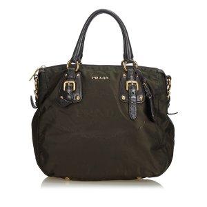 Prada Canapa Nylon Handbag