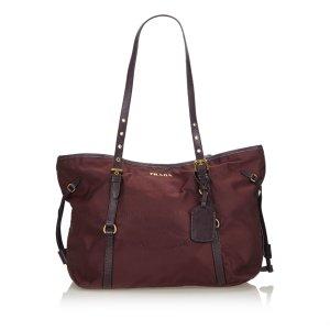 Prada Canapa Nylon Tote Bag