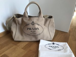Prada Shopper oatmeal-gold-colored