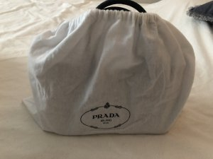 Prada Carry Bag steel blue cotton