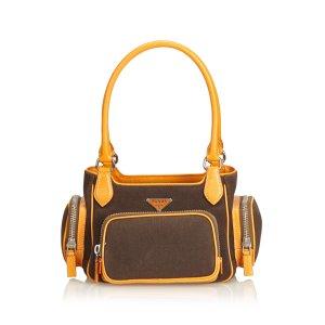 Prada Shoulder Bag dark brown