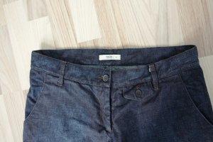 Prada Jeans a 3/4 blu scuro Cotone