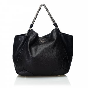 Prada Cervo Lux Chain Tote Bag