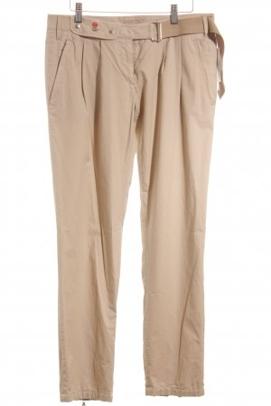 Prada Chinohose beige-rot Casual-Look