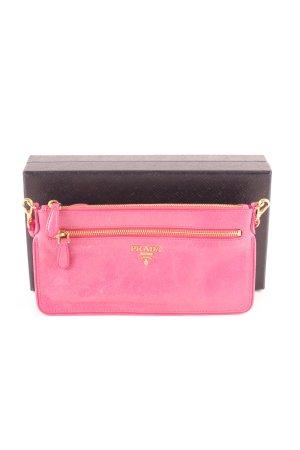 Prada Borsa clutch rosa elegante