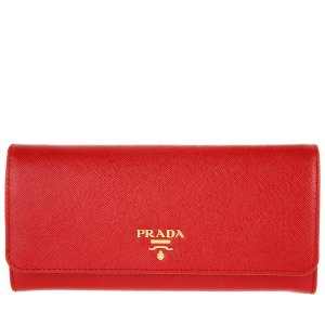 Prada Card Case multicolored leather