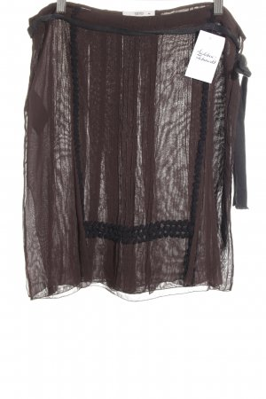 Prada Crashrock dunkelbraun-schwarz Elegant