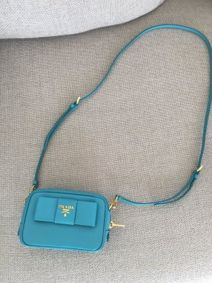 Prada Mini Bag turquoise