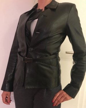 Prada Leather Jacket black leather