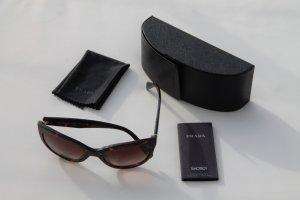 Prada Damen-Sonnenbrille SPR 05P 2AU6S1, Tortoise mit gold