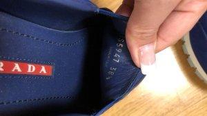 Prada Sneaker slip-on blu