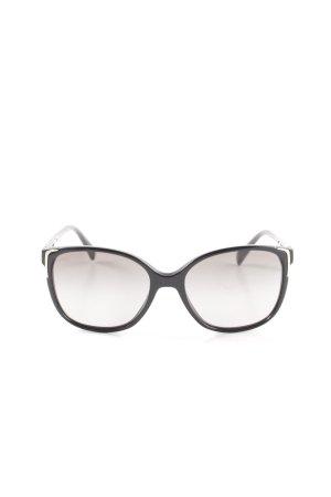 Prada Angular Shaped Sunglasses black casual look
