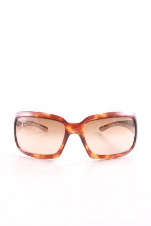 Prada eckige Sonnenbrille hellorange-blassgelb Farbverlauf Street-Fashion-Look