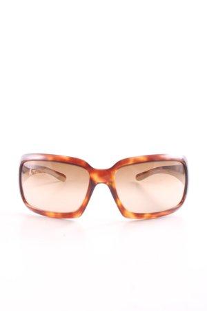 Prada Angular Shaped Sunglasses light orange-primrose color gradient