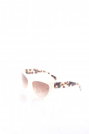 Prada Angular Shaped Sunglasses tortoise pattern vintage look