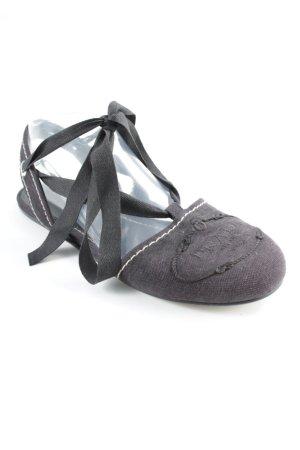 Prada Espadrilles-Sandalen schwarz Casual-Look