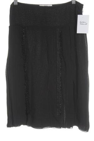 Prada Faltenrock schwarz Elegant