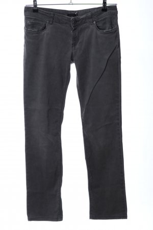Prada Pantalón de cinco bolsillos gris claro look casual