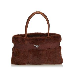 Prada Fur Handbag
