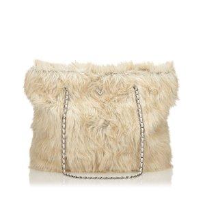 Prada Fur Tote Bag