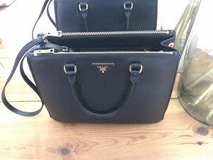 Prada Galleria Tasche schwarz
