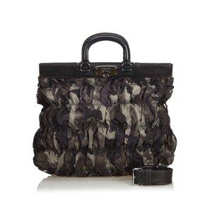 Prada Satchel black nylon