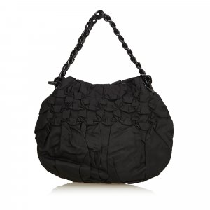 Prada Sac porté épaule noir nylon
